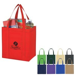 Custom Non-Woven Avenue Shopper Tote Bag