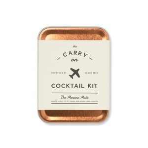 W&P Moscow Mule Carry On Cocktail Kit Grey-Silver