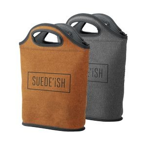 Venti Suede-ish Neoprene Lunch Bag